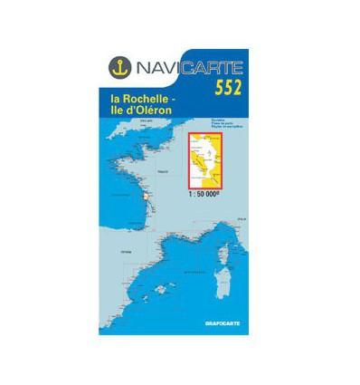Navicarte Simple n degrés552 de La Rochelle à l'Ile d'Oléron