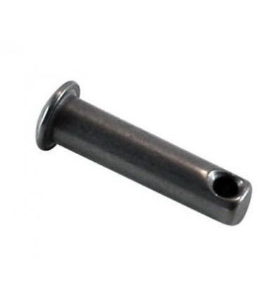 Axe percé inox 4 mm