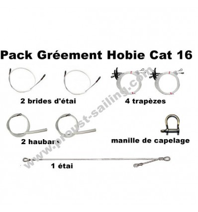 Pack Gréement Hobie Cat 16