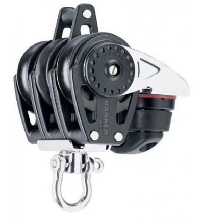 Carbo Harken Winch Triple/Emerillon 423 Carbo-Cam/Ringo 40 mm