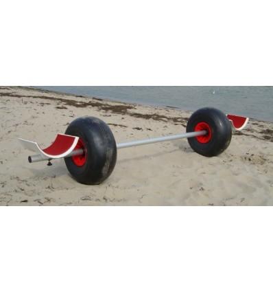 Chariot à roues ballons