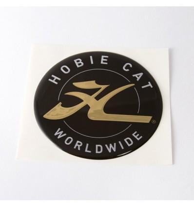 Autocollant Hobie Gold rond Ø7cm