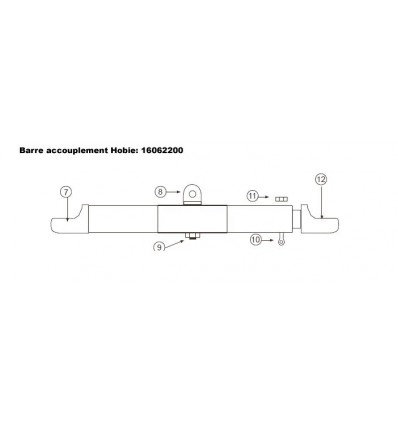 Barre accouplement 14161718Std
