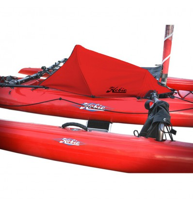 Capote rouge pour Adventure Island