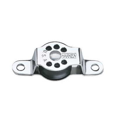 Micro Block Harken Poulie à plat pont 22 mm