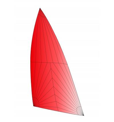 Nacra 15 spi Rouge avec traitement