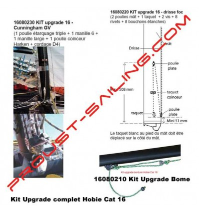 Kit upgrade hobie cat 16 complet