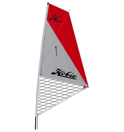 Kit voile kayak hobie mirage Argent/Rouge