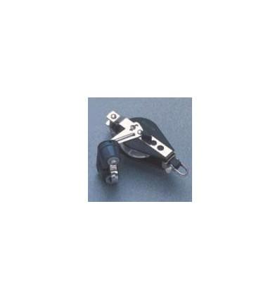 Poulie winch à ringot/taquet 57 mm