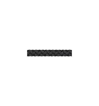 Tresse Polyester 10mm noir