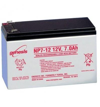 Batterie genesis np7- 7ah 12v