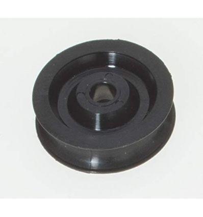 Réas nylon - delrin®Ø ext : 17 mmØ axe : 6,2 mm