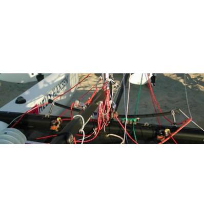 Kit autovireur pour catamaran de sport